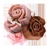 شوكولاتة الورد