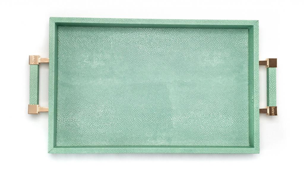 Get Well Soon Tiffany Tray Small leathered