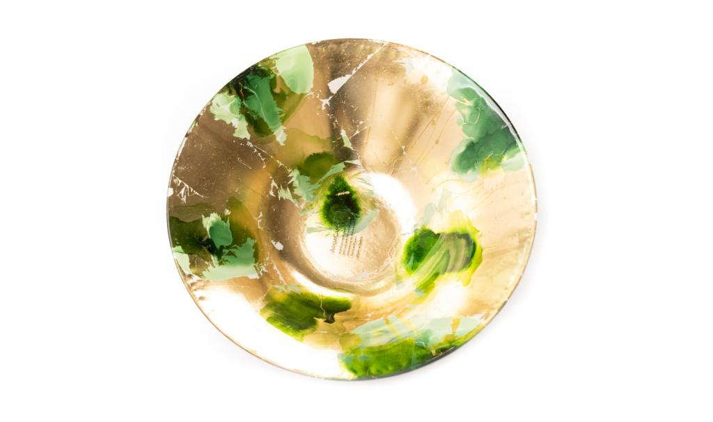 Mix Chocolate Gold & Green Dish
