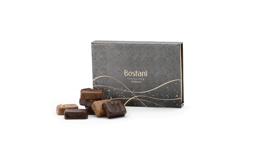 6 PCS Of Brussels Chocolate in Black Box