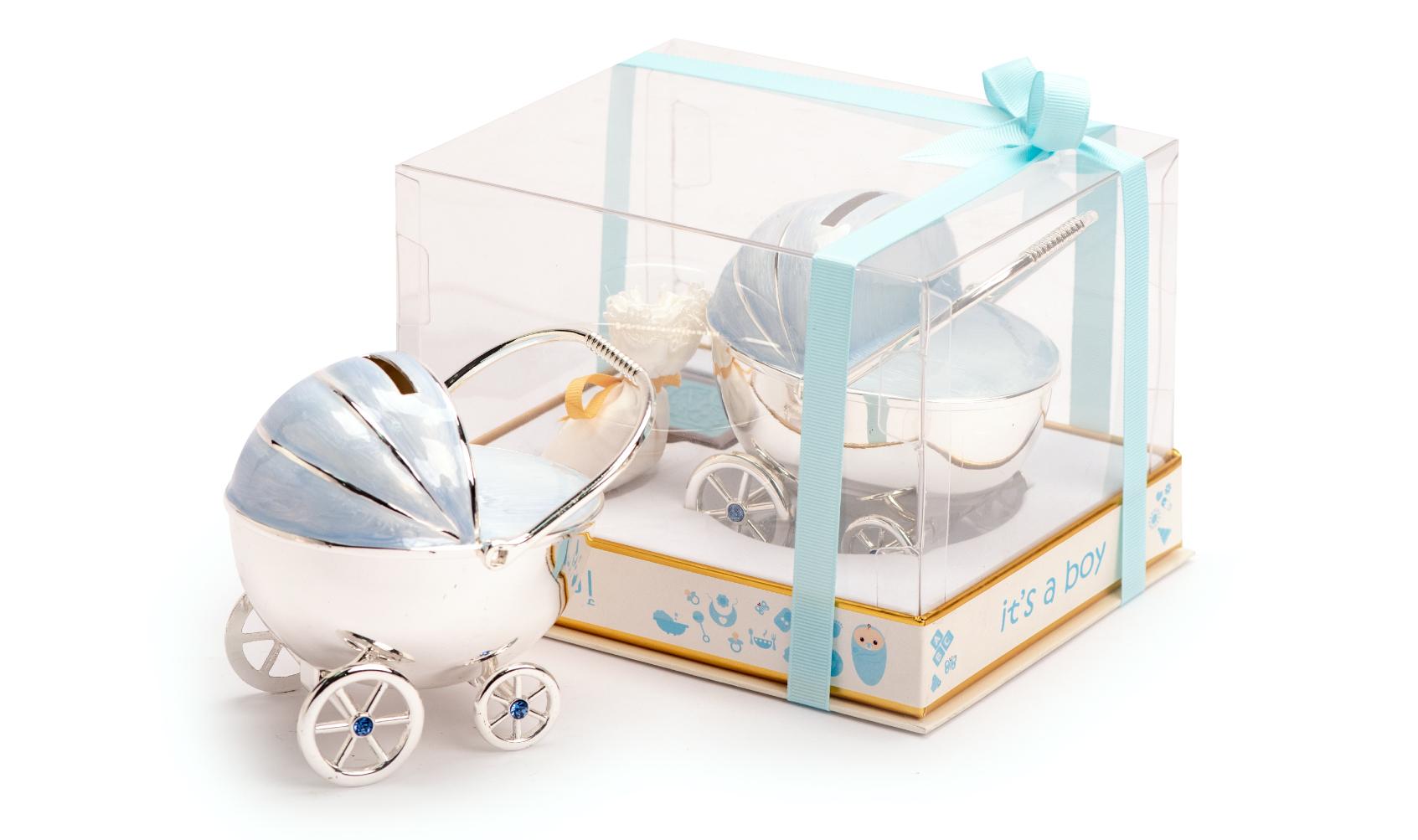 Money box car blue