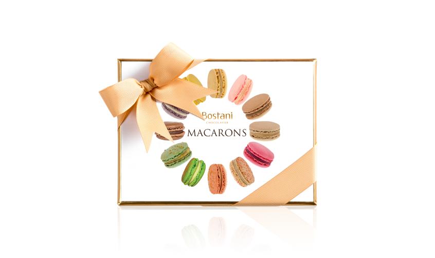 Macaron Box Of 12 Pcs