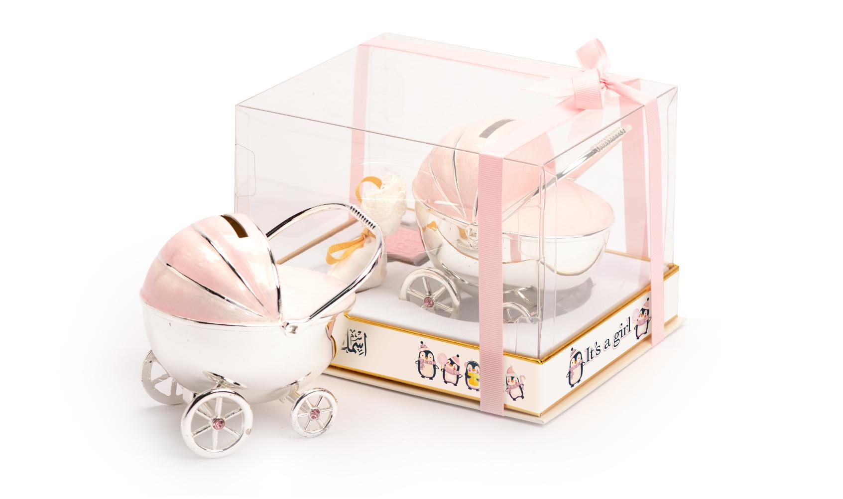 Money box car pink