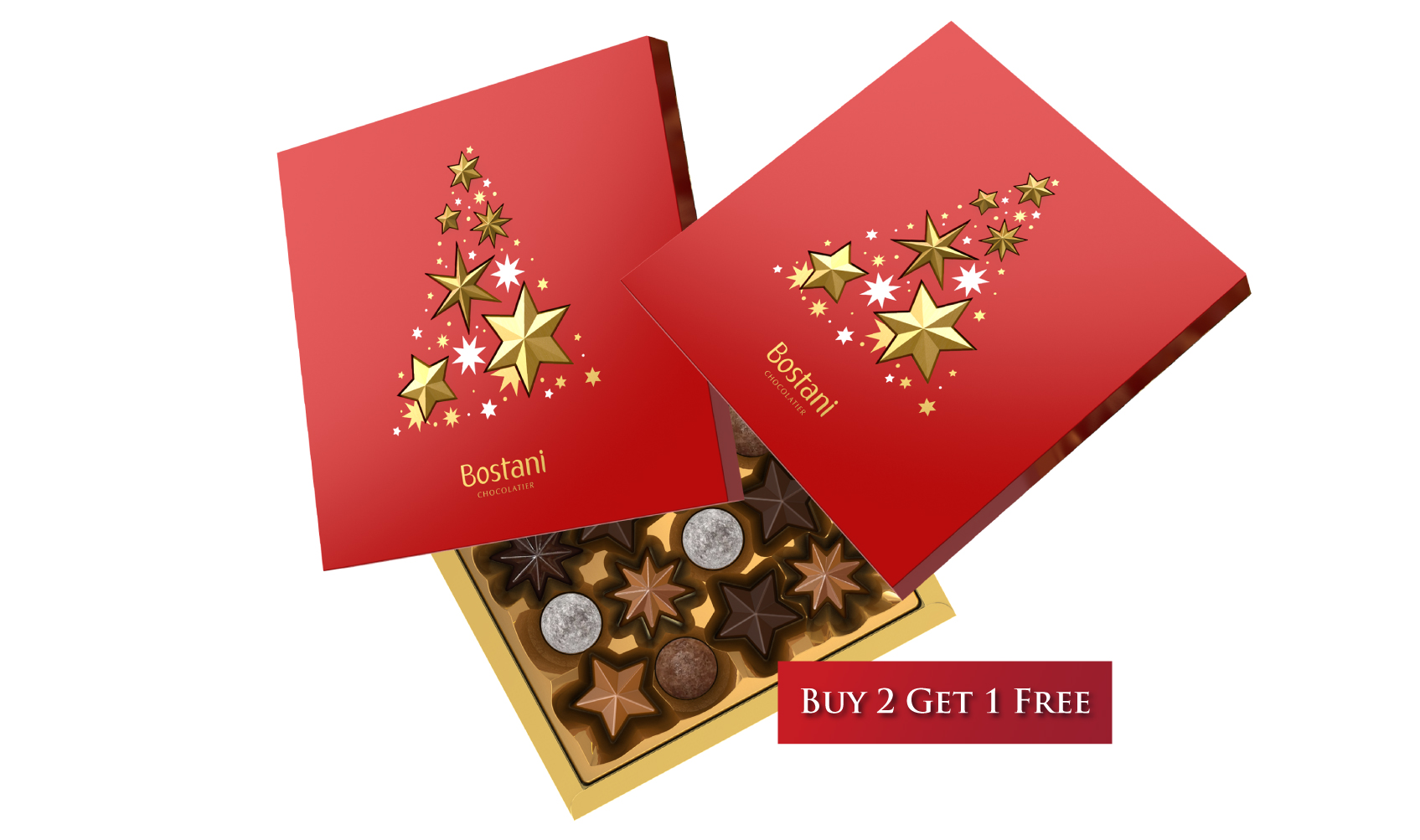 Pick It Up Christmas Box Offer Buy 2 get 1 Free