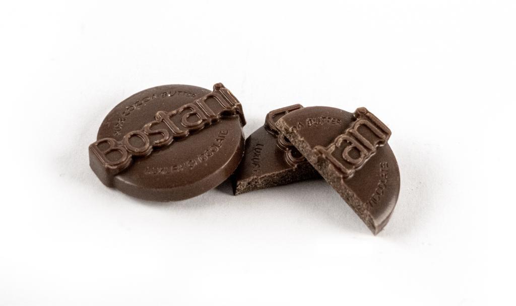 Raw Chocolate Coin Dark