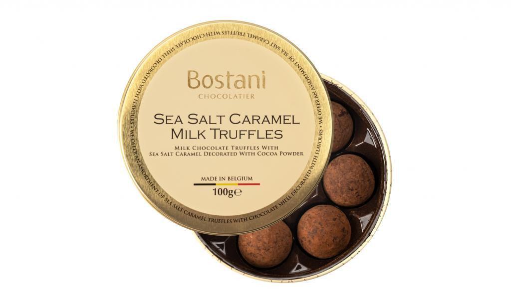 Cocoa Powder Truffles With Sea Salt Caramel