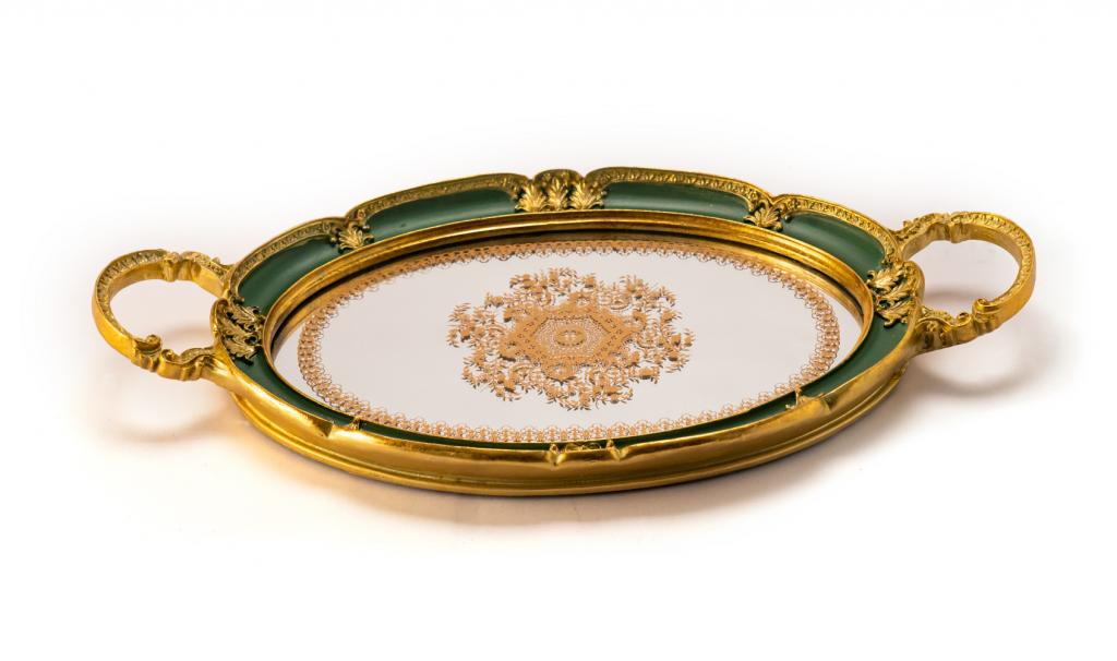 Get Well Soon Metal Tray Green Small