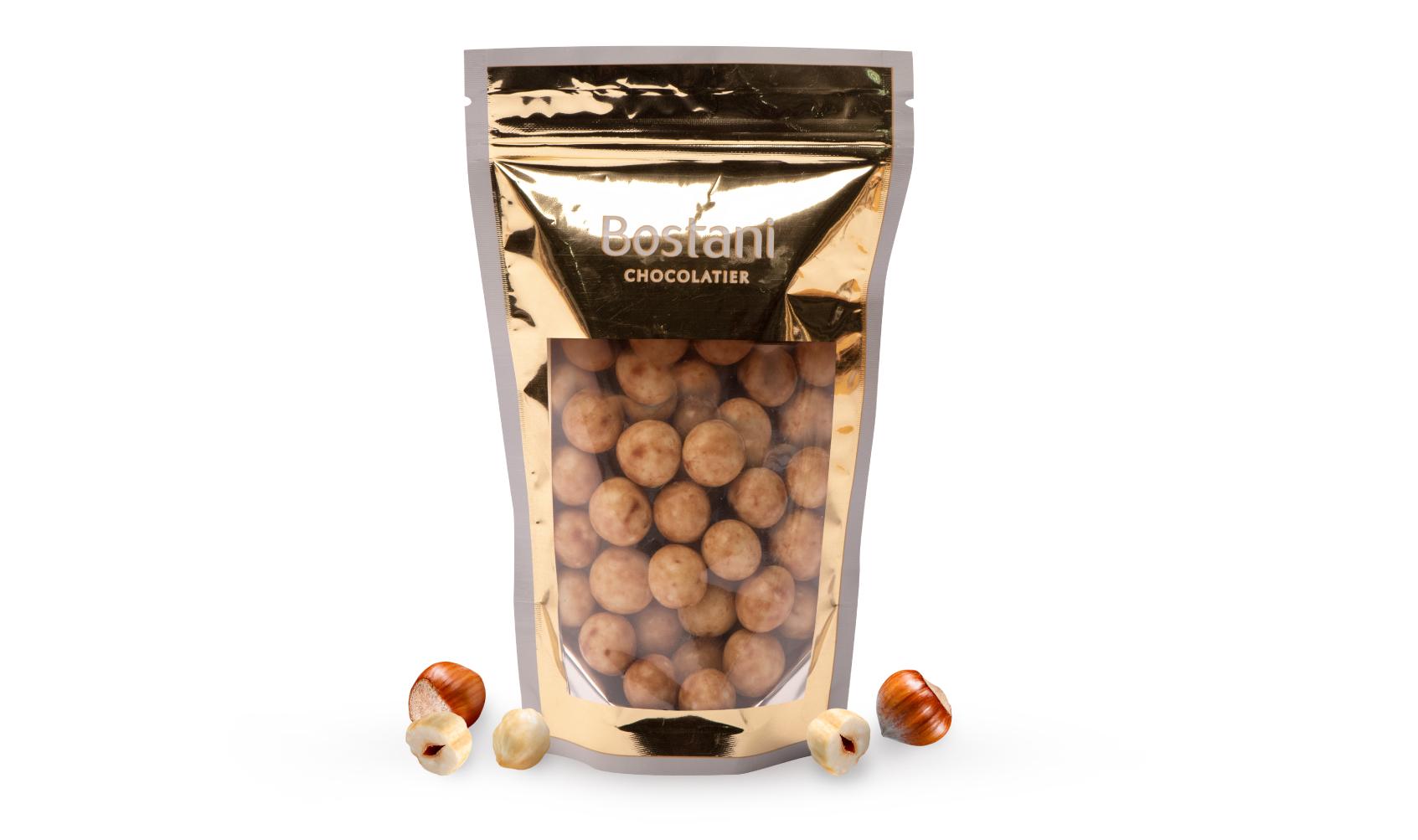 Hazelnuts Drajeh with white Chocolate