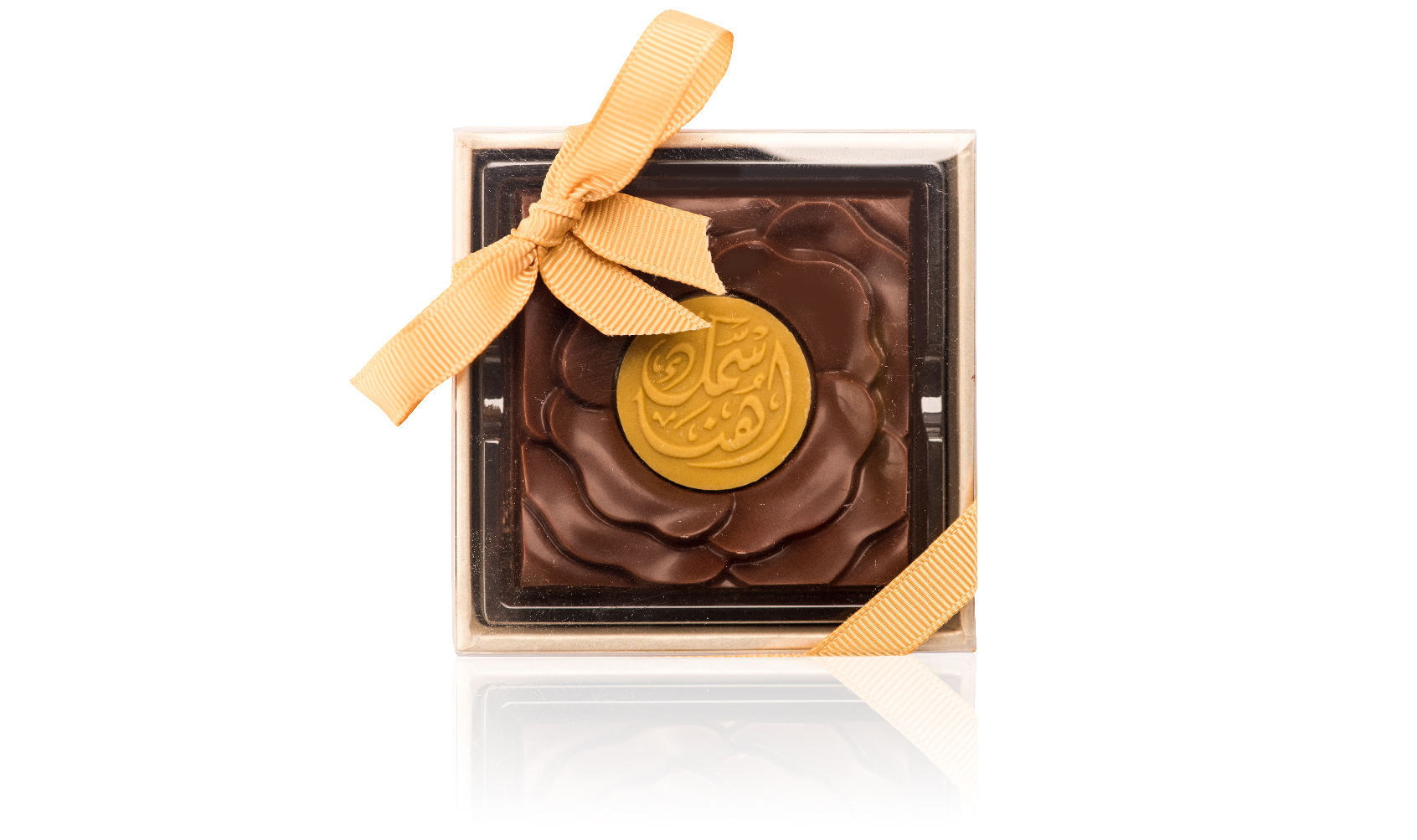 Transperent Box With rose chocolate