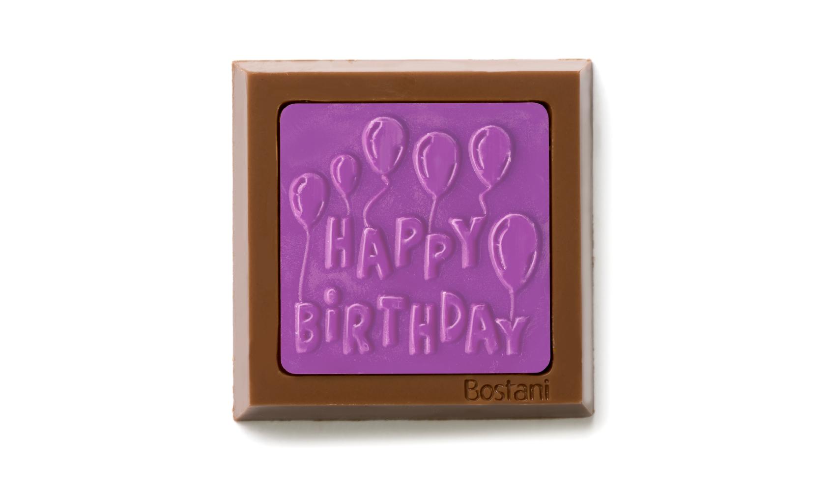 Happy Birthday violet Color 100g