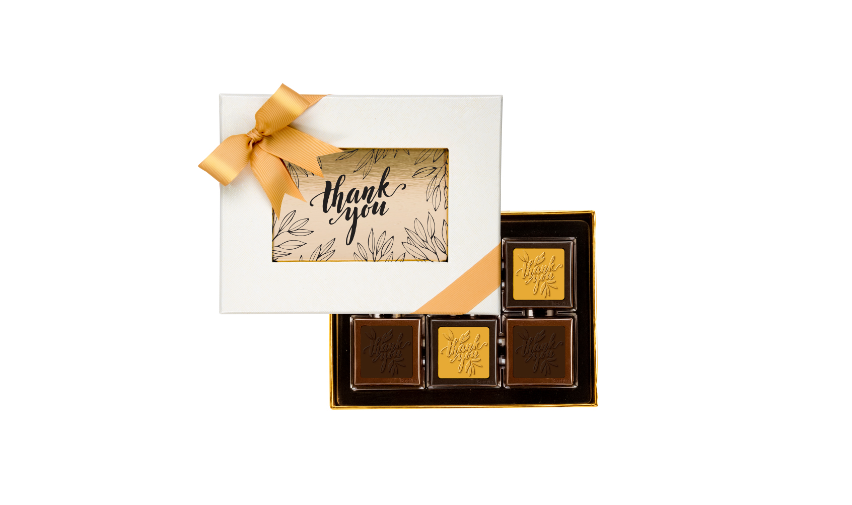 Thank You 12 Chocolate PCS Box