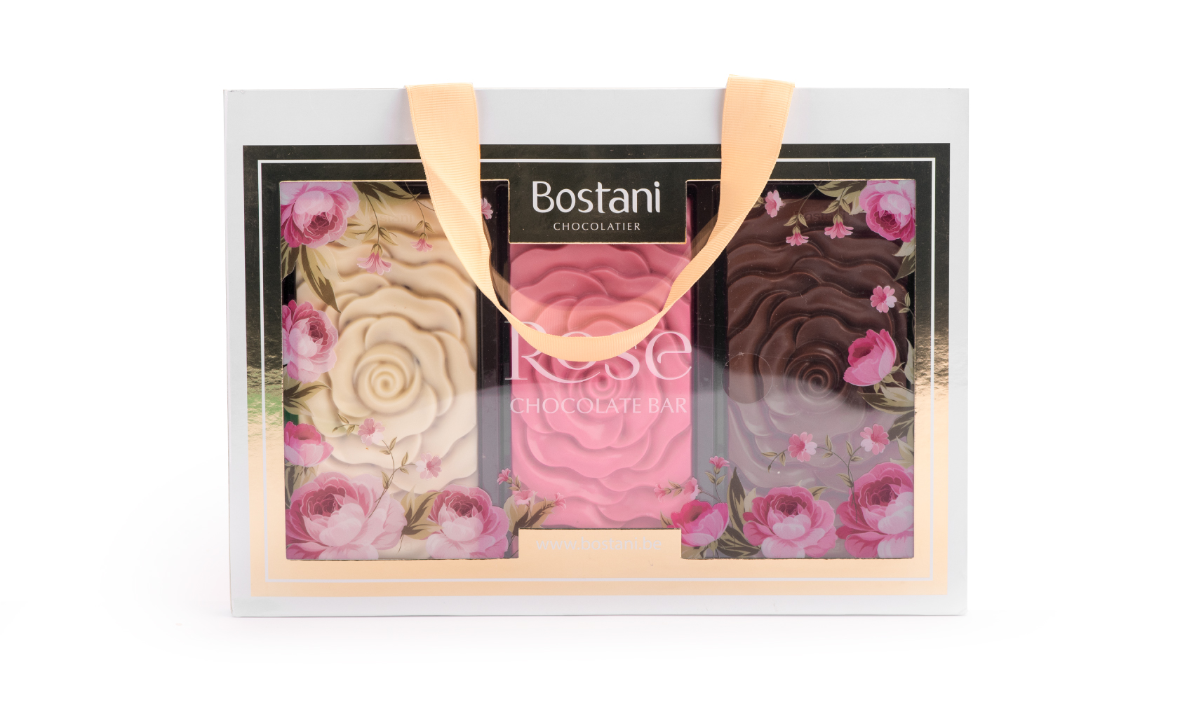 Rose Chocolate Bar Bag 3 Pcs