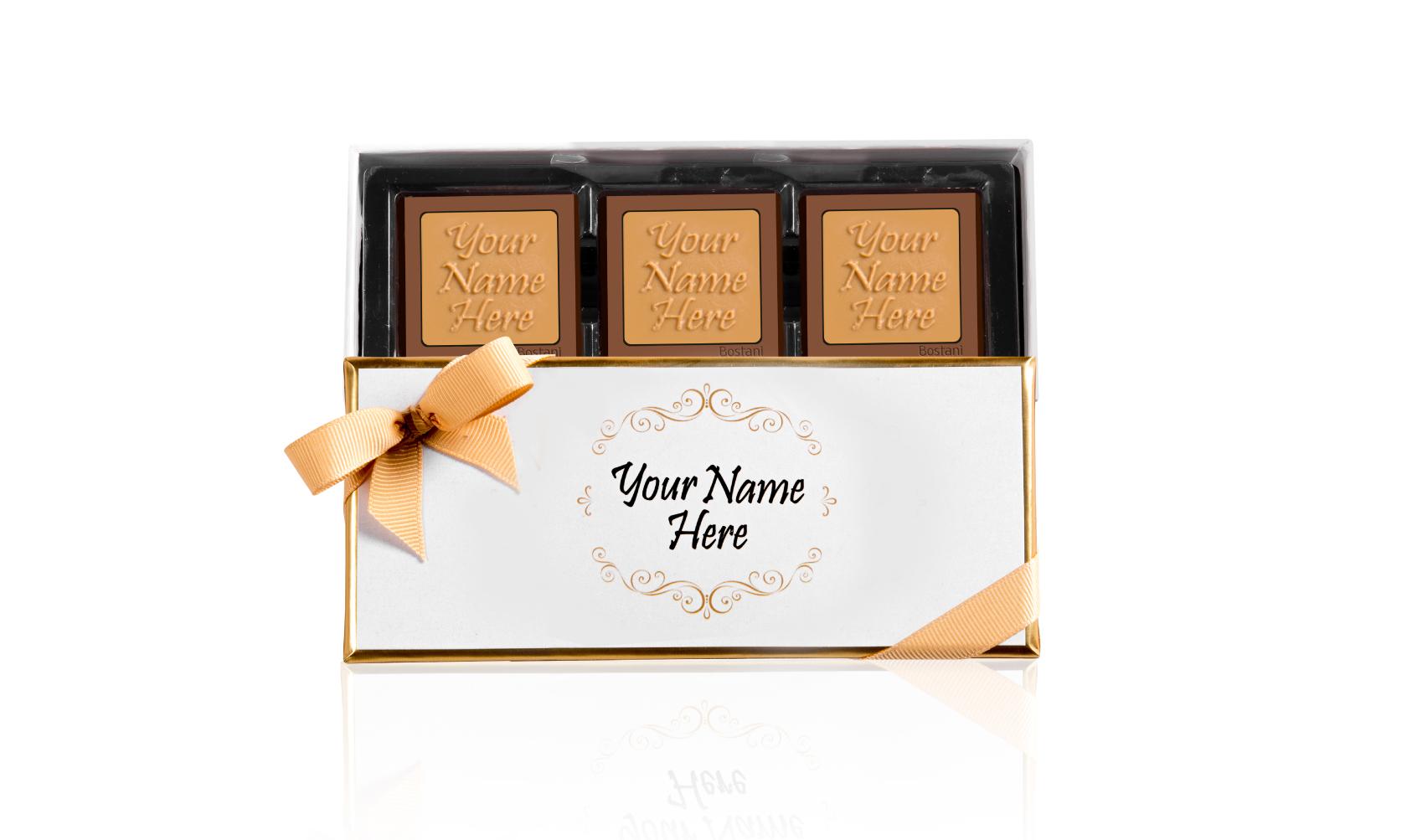 Fancy Box 3 PCS Chocolate