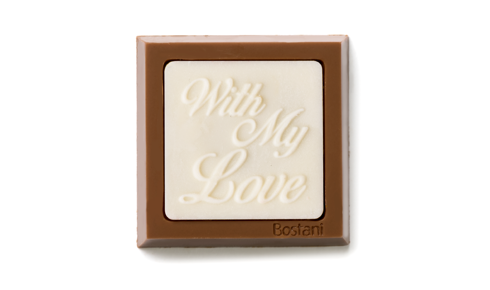 With my love square White Color 100g