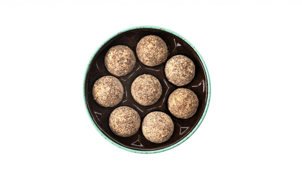 Almond Truffles With Sea Salt Caramel