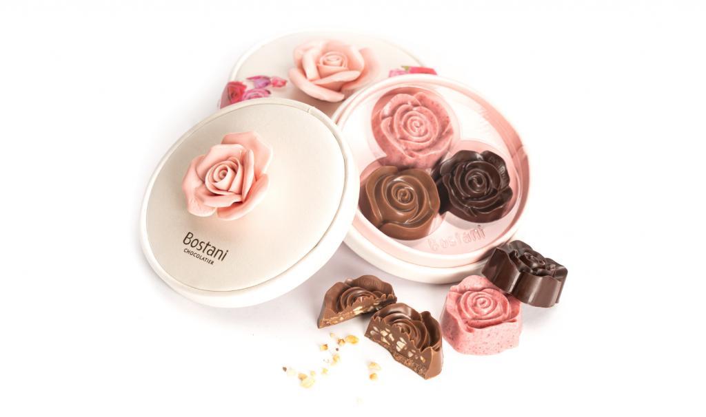 Rose Chocolate Box 3 pcs