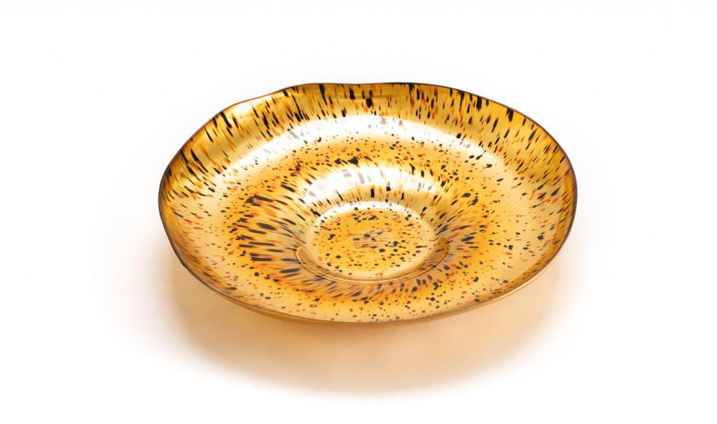Congratulations Gold & Black Dish