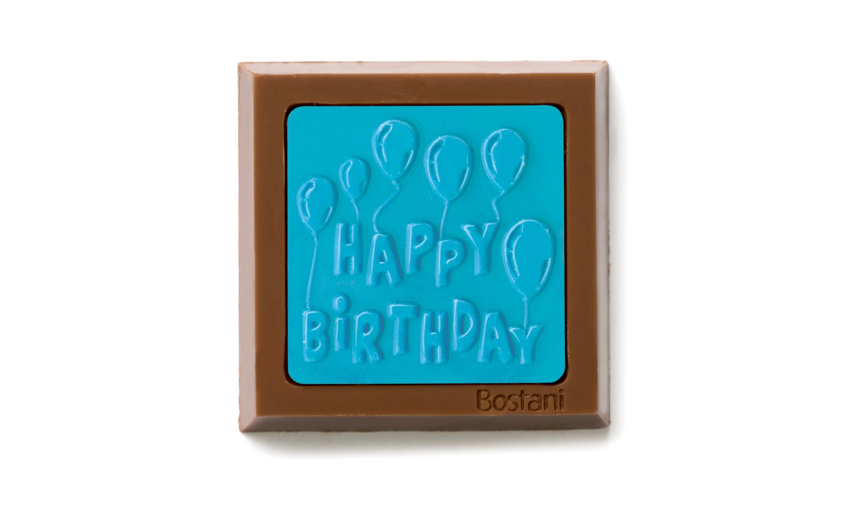 Happy Birthday Blue Color 100g