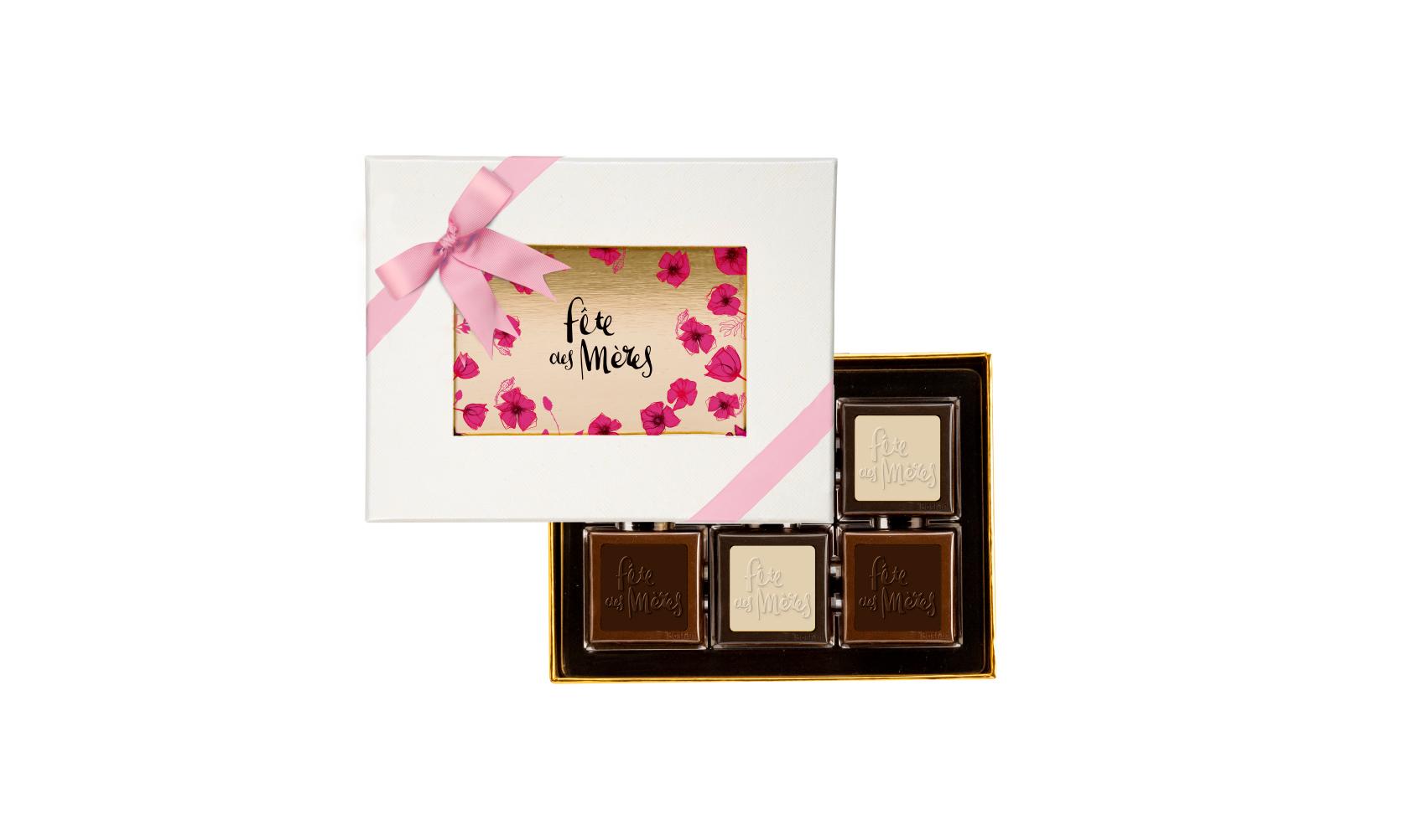 6 pcs Chocolate Box