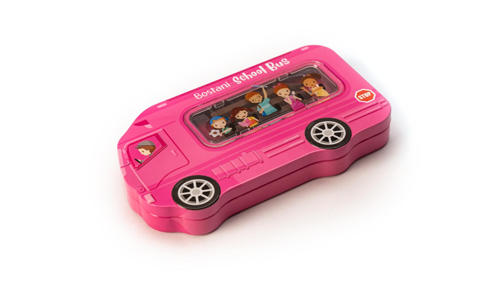 School Bus Pink