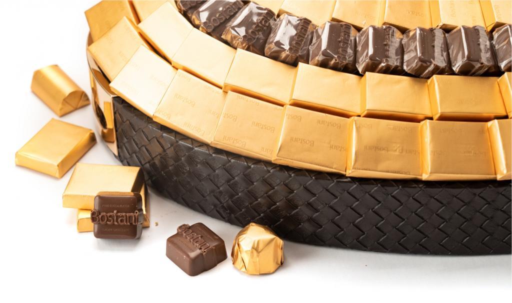 Mix Chocolate Medium Brown Oval