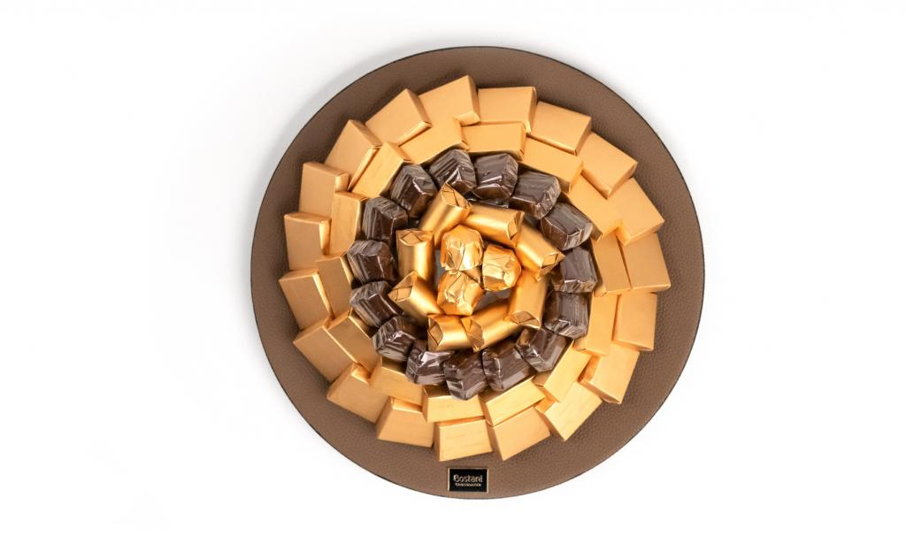 Mix Chocolate Tray Small Brown