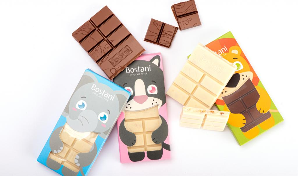 Kids Bar Milk chocolate with Nuts