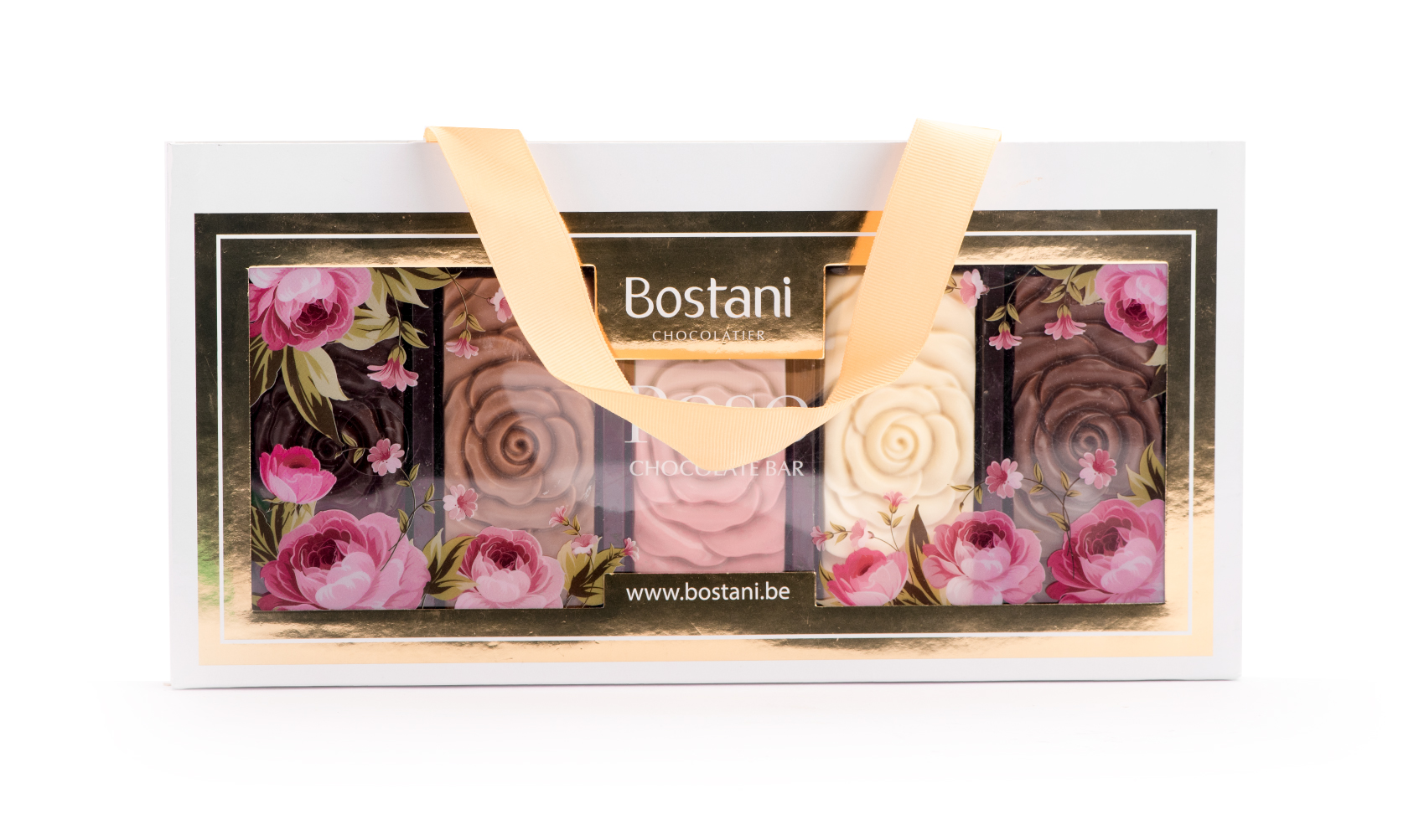 Rose Chocolate bar bag 5 pcs