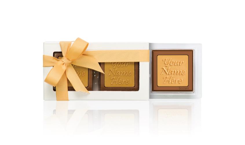 العلبة الشفافة (2 قطعة شوكولا)