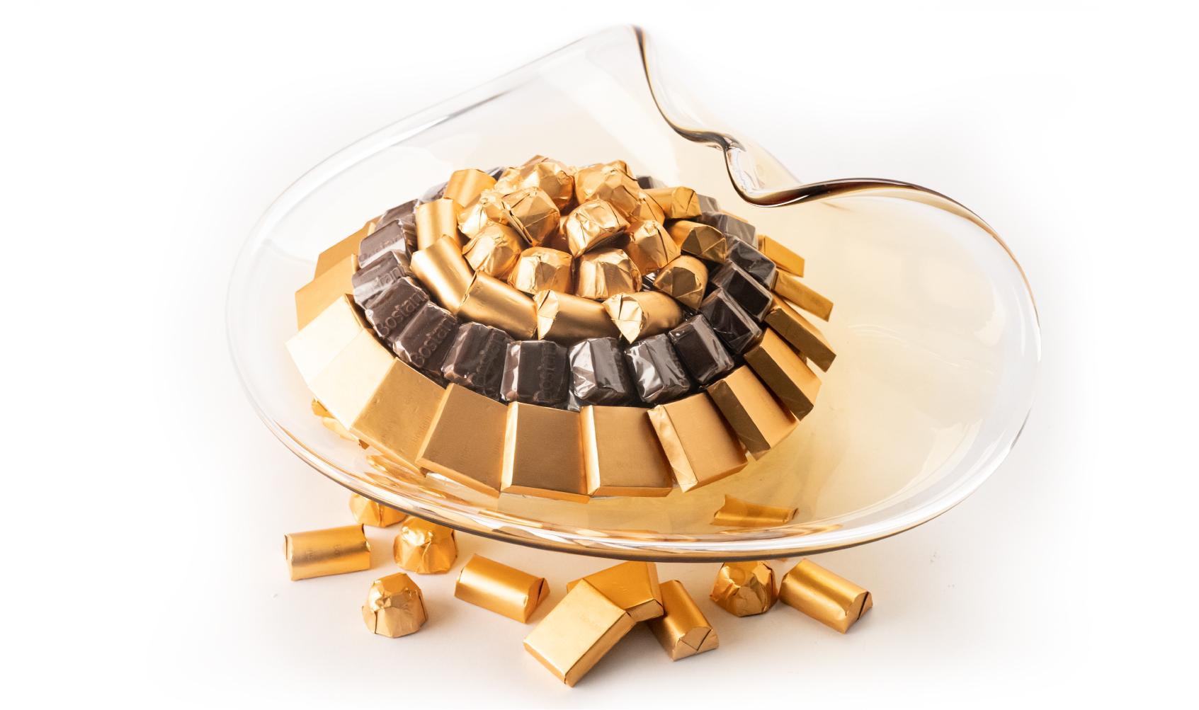 Mix Chocolate Curvy Italian Handmade Dish