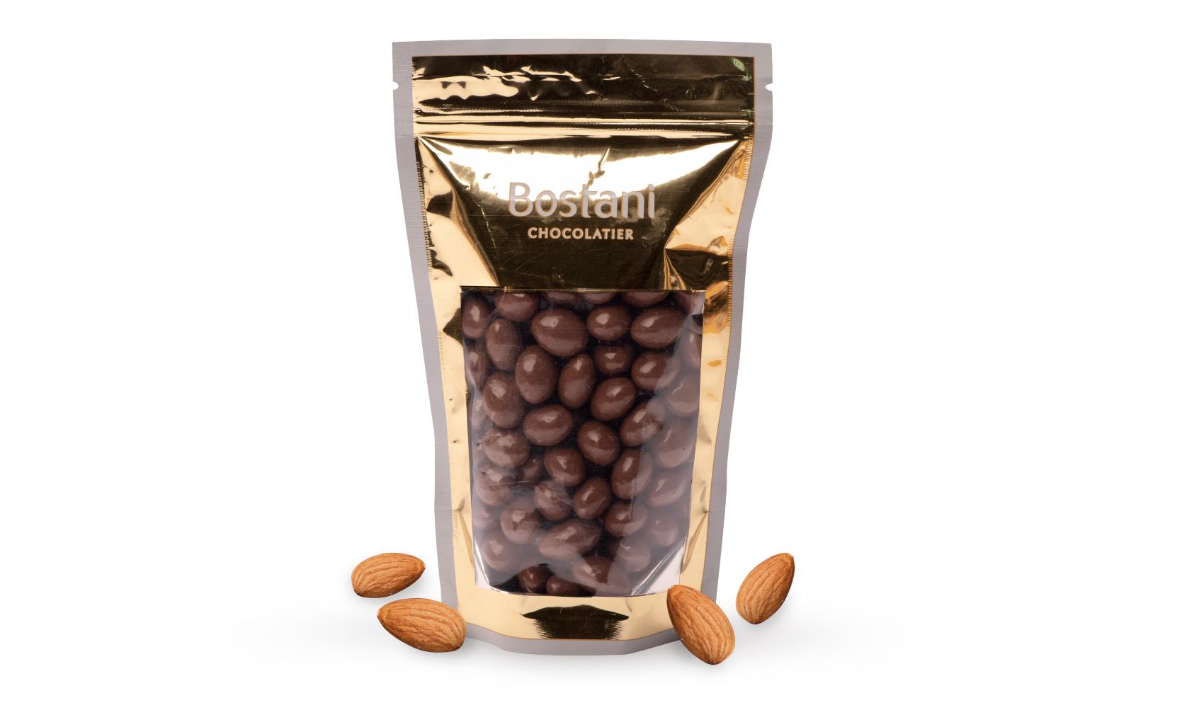 Almond Drajeh with milk Chocolate