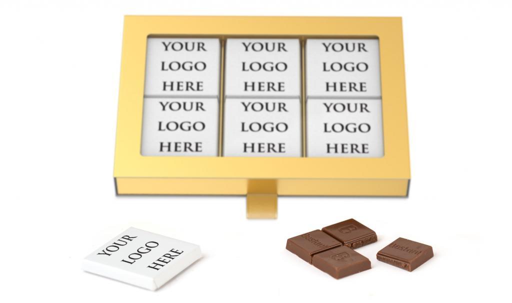 Thin Chocolate Gold Box