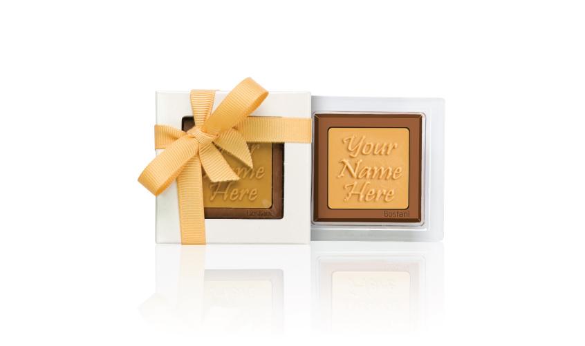 الشوكولا على شكل العلبة الشفافة 1 قطعة