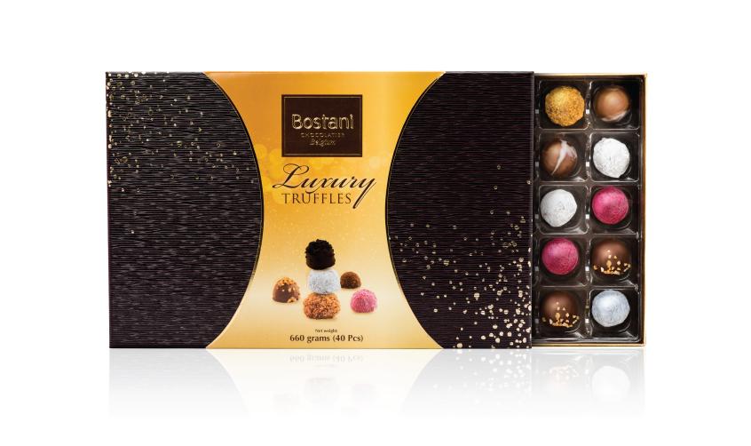 40 PCS Of Truffles Chocolate Inside Box