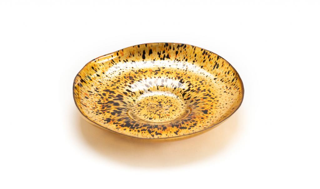 Congratulations Gold & Black Dish Small