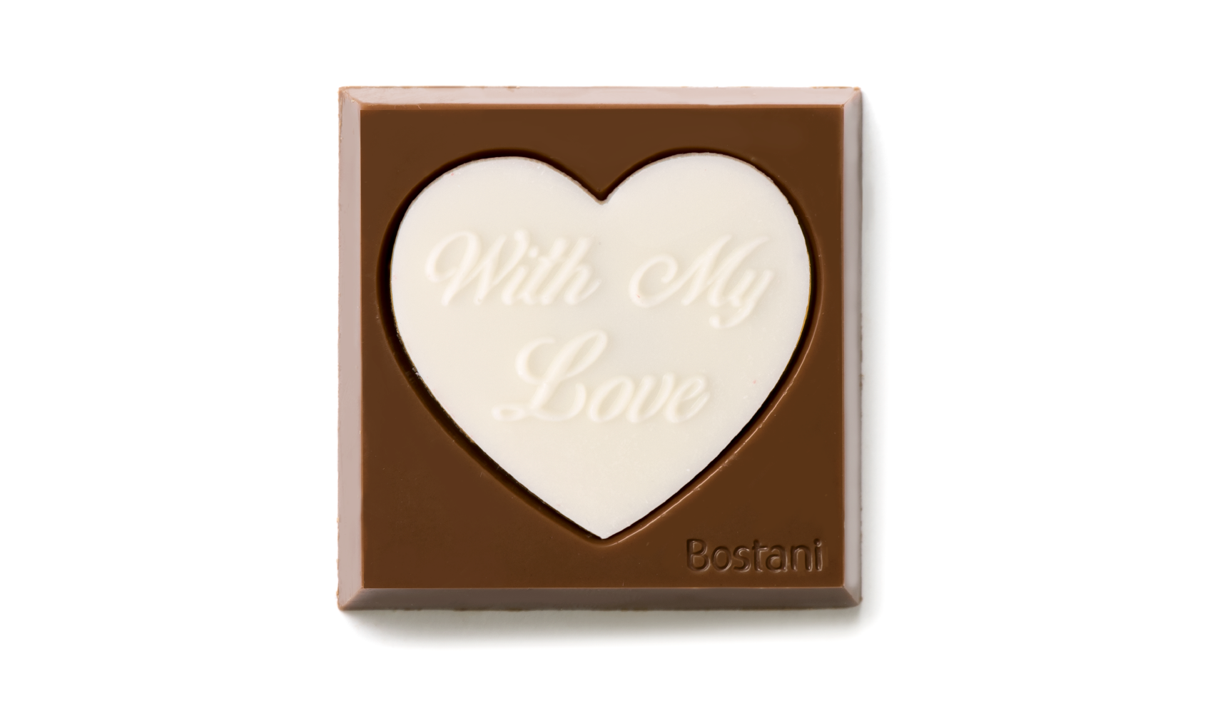 With my love Heart white Color 100g