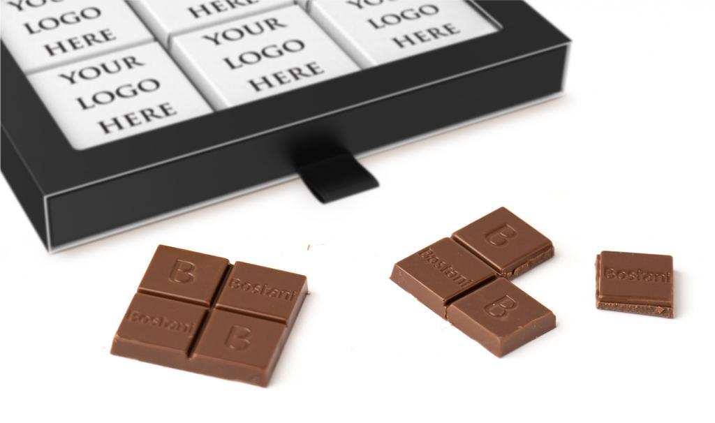 Thin Chocolate Black Box
