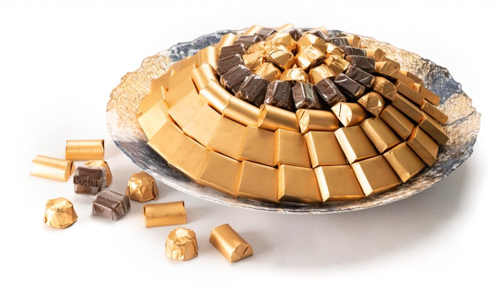 Mix Chocolate Gold & Black Dish