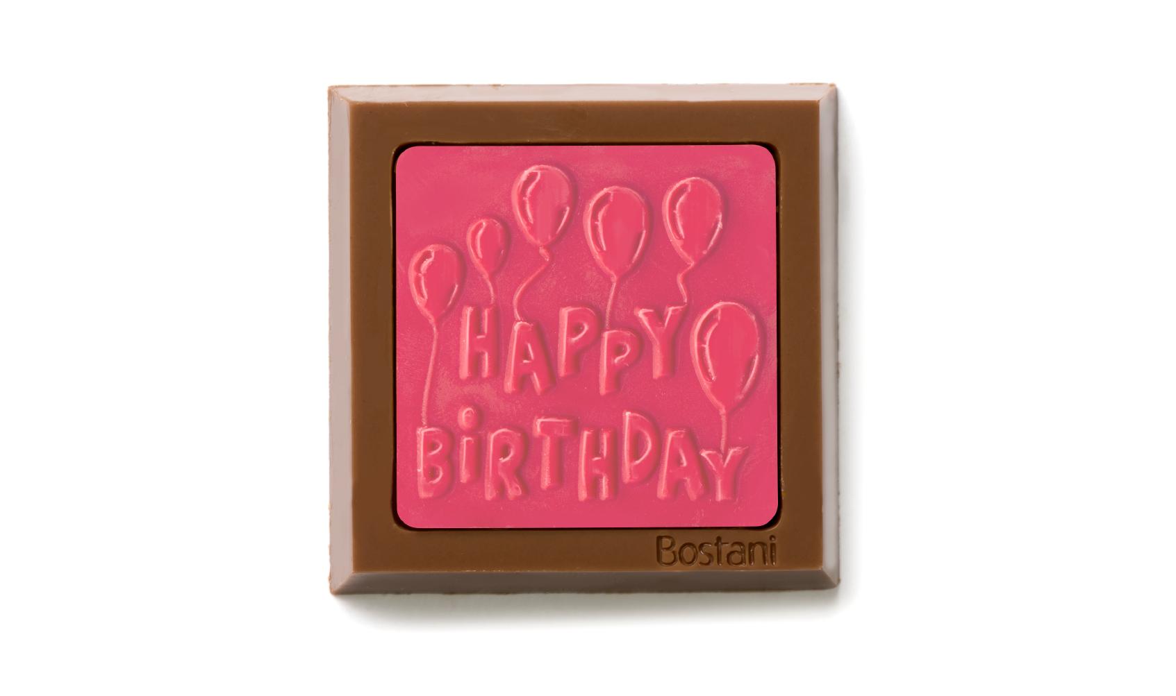 Happy birthday Pink Color 100g