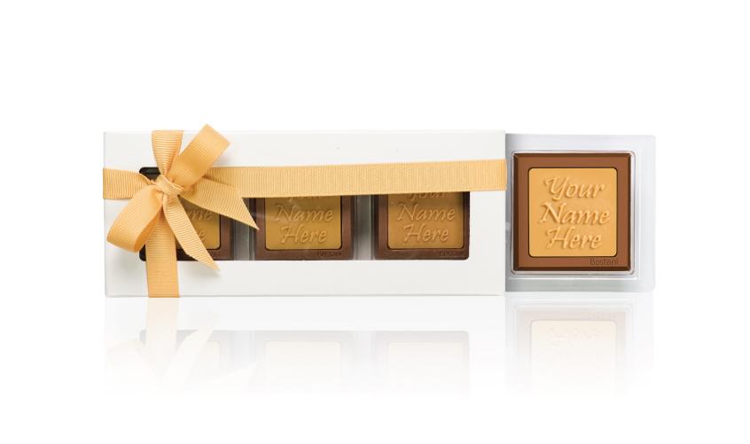 Transparent Box 3 PCS Chocolate