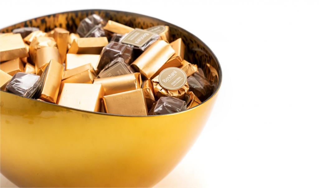 Mix Chocolate Gold Dish
