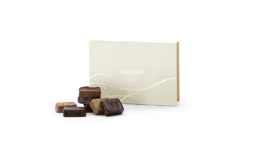 6 PCS Of Brussels Chocolate in White Box