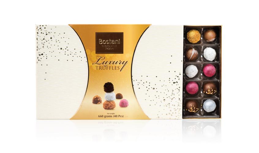 40 PCS Of Truffles Chocolate in White Box
