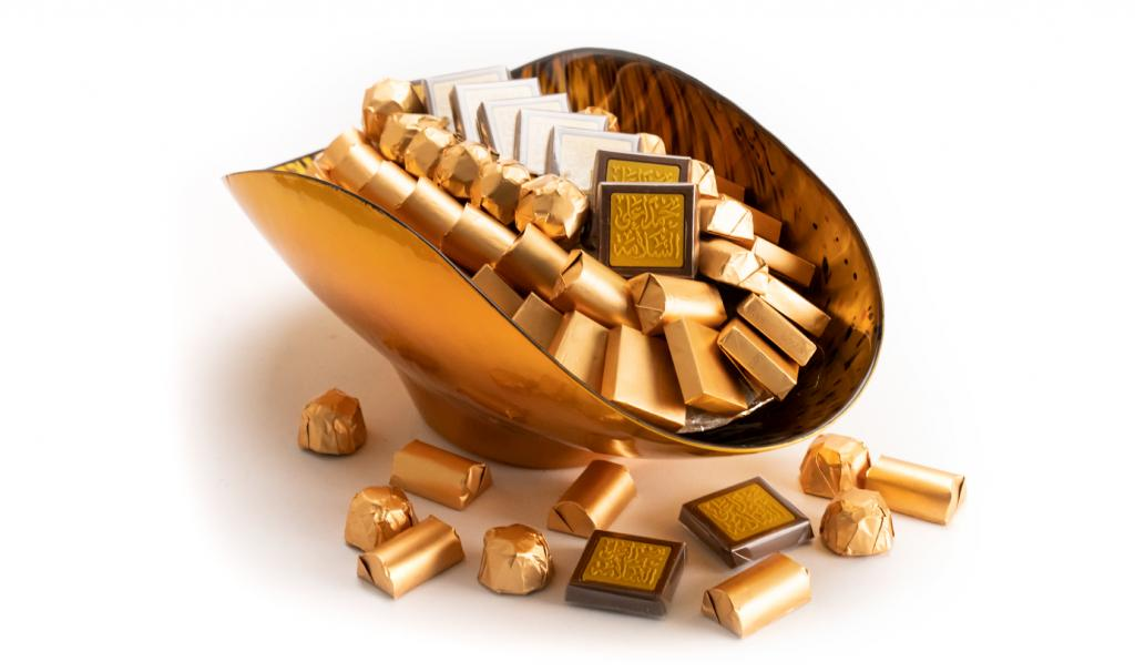 Get Well Soon Gold Dish