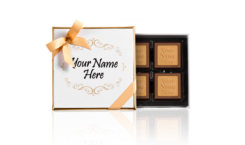 Fancy Box 4 PCS Chocolate